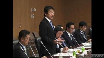 時価会計を審議する中川財務・金融相.jpg