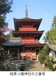 柏原八幡神社の三重塔.jpg